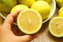 黄柠檬特写