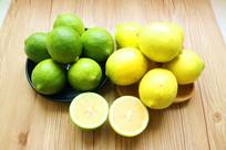 青柠檬黄柠檬
