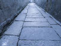 青石板巷道