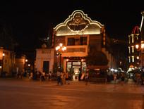 时光贵州古建筑夜景