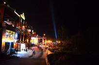 时光贵州街道夜景
