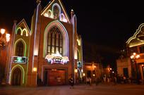 时光教堂夜景