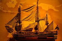 室内帆船模型