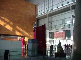 首都博物馆一楼大堂