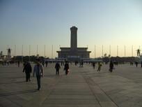 天安门广场的中轴线