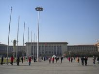 天安门广场看人民大会堂