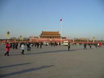 天安门广场实景