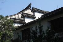 下孙文化村古风屋顶