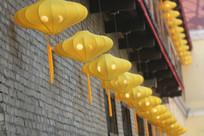 月形装饰灯笼