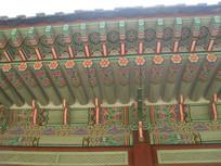 韩国古建筑屋檐