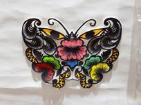 蝴蝶图案剪纸