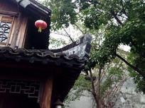 江南古建筑的屋檐