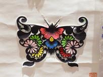 剪纸艺术蝴蝶