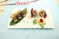 金针菇牛肉卷拼鲍鱼