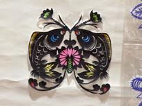 手工艺蝴蝶剪纸