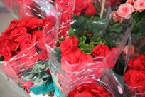 鲜花店的红玫瑰