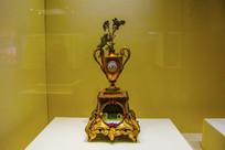 英国制造清铜鎏金花瓶盆景表