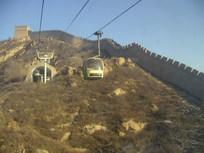 八达岭长城的缆车