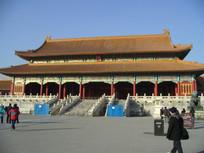 北京故宫太和门