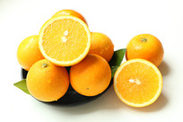 冰糖橙白底