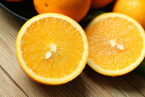 冰糖橙特写