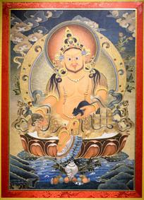 佛教人物精美刺绣展示