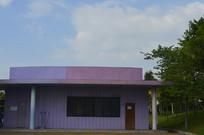 广州市儿童公园粉紫色建筑