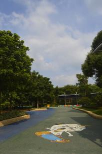 广州市儿童公园广场绿道