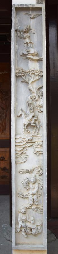 古代人物石雕
