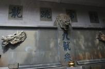 九龙泉许愿树石壁