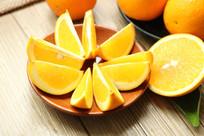 切片的橙子