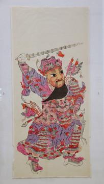 清代图画秦琼