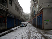 清镇市东门桥村雪景