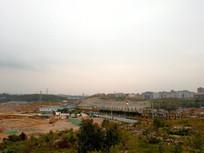清镇污水处理厂建设工地