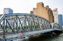 上海外白渡桥风光