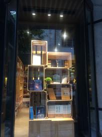 书店橱窗展示