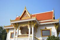 泰国风格庙宇建筑图