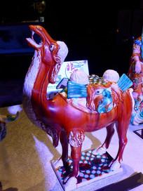 唐三彩骆驼