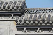 湘湖古式建筑屋顶