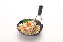 鲜虾蘑菇通心粉