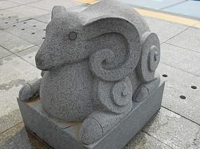 羊-生肖动物雕塑