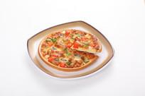 芝士鸡肉披萨