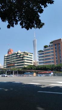 广州城市建筑风景
