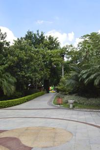 广州云台花园广场绿化景观