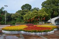 广州云溪生态公园花圃