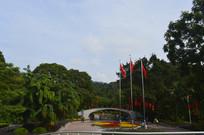 广州云溪生态公园庆国庆景观