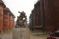 古老的工业建筑