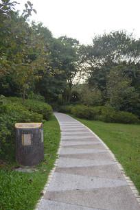 云溪生态公园绿化道路