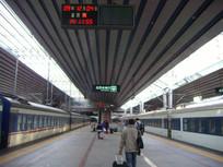 北京西站月台