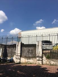 广州园林机动车检测站建筑一角